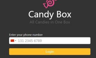 #撸币了#CandyBOX:免费注册就送100币  以后炒起来了卖钱