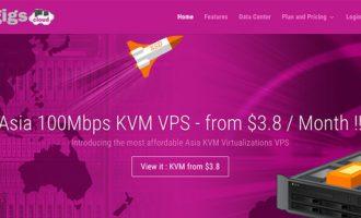 #预售# GigsGigsCloud:洛杉矶CN2 KVM $3.8/月 2核 500MB 15G 1T 1Gbps