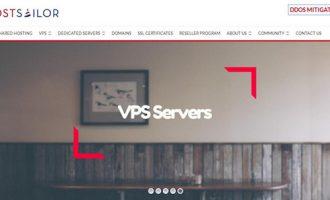HostSailor:罗马尼亚KVM 版权宽松 5折优惠 $17.94/年 1核 256M 10GB 256GB 荷兰等机房